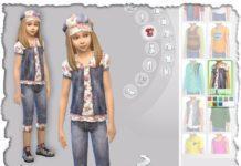 Набор детской одежды от Devilicious для Sims 4