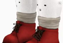 Ботинки для малыша NOBU SOCK BOOTS от Chisami для Симс 3