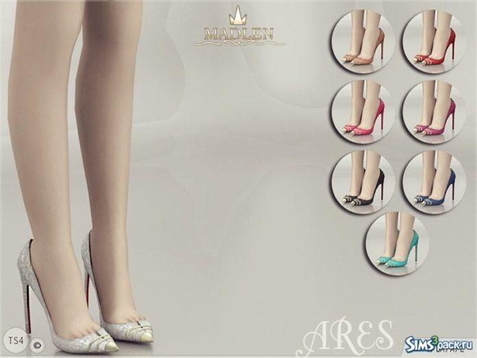 Туфли Ares от MJ95 для Sims 4