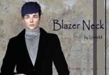 Блейзер Blazer Neck от LittleM для Симс 3