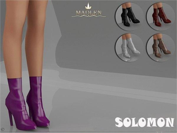 Полусапожки Solomon для женщин Sims 4