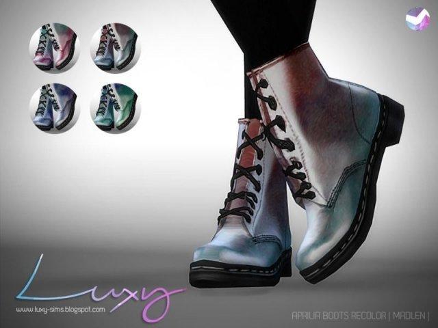 Ботинки Aprilia Boots [RECOLOR]