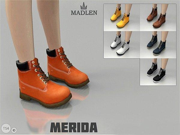 "Ботинки ""merida"" для женщин Sims 4"