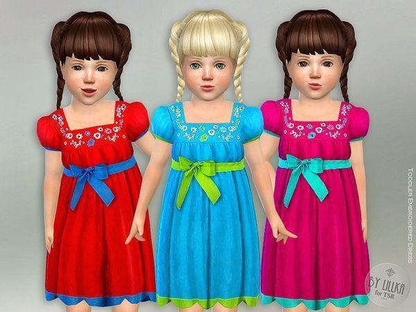 Платье для девочек Embroidered от lillka