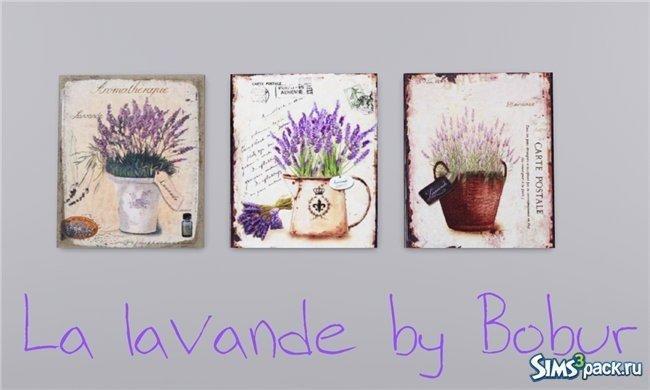 Картины France от Bobur для Sims 3