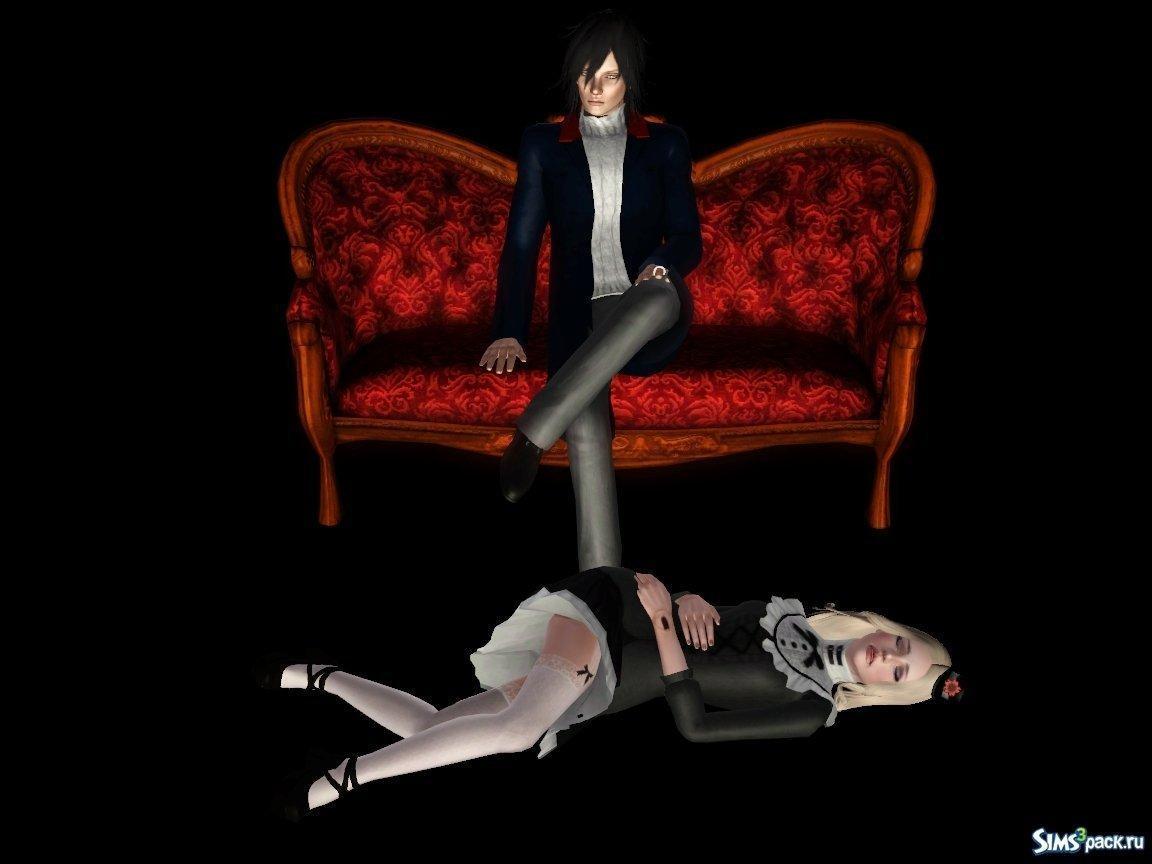 Скачать Аделина и Джеймс для Sims 3