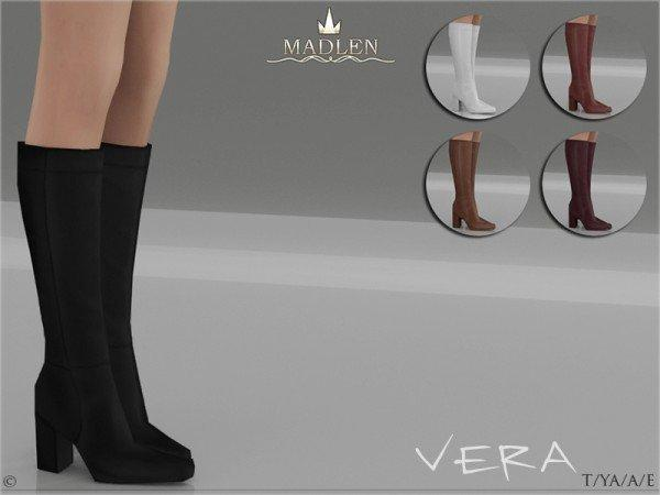 "Мод на сапоги ""VERA"" sims 4 для женщин"