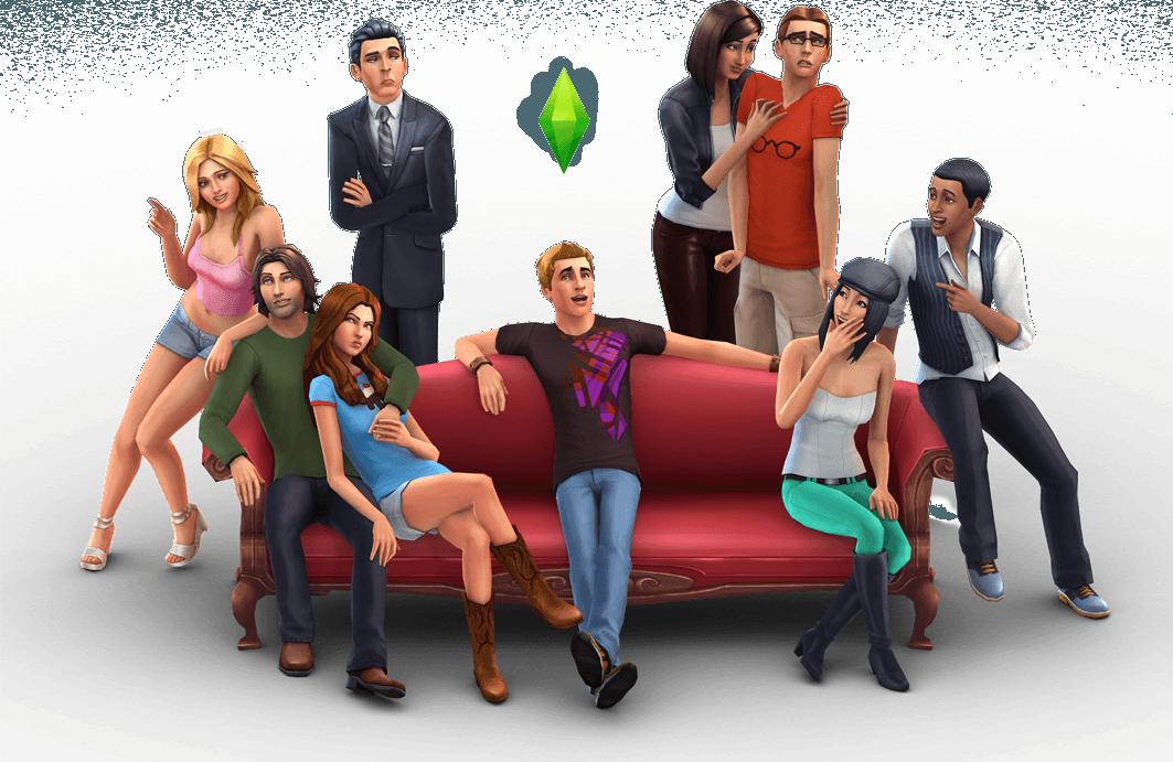 Мод на возможность навестить семью и друзей для Sims 4