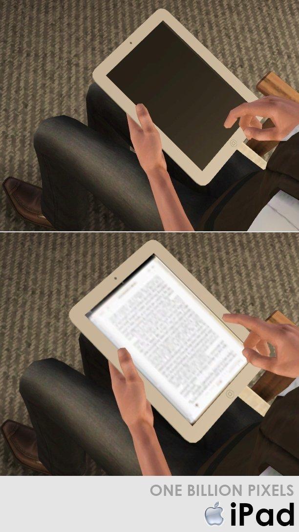 Планшет iPad Apple от NewOne для Sims 3