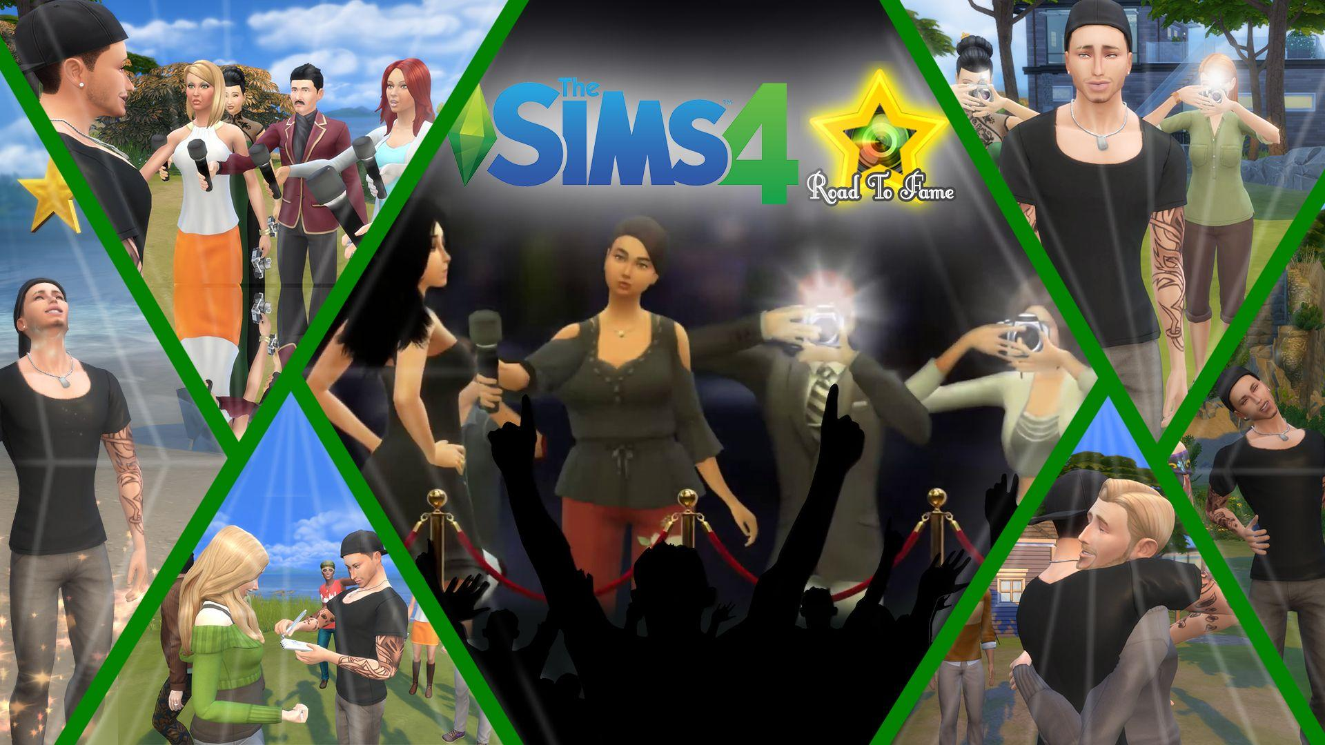 Мод: «Путь к славе» для The Sims 4