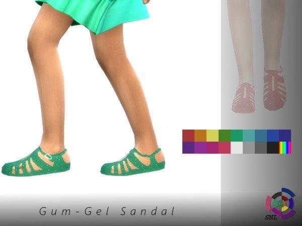 Сандалии для детей Gum-Gel от SuperNerdyLove