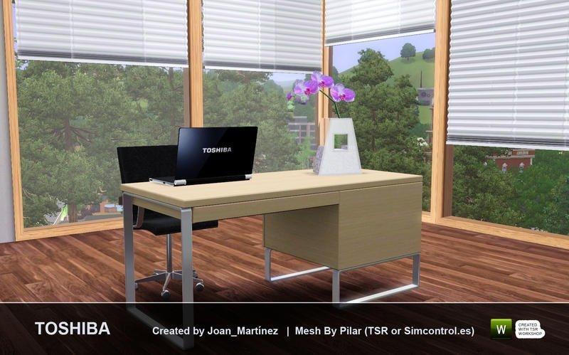 MacBook Pro и Toshiba U300 от joan_martinez для Sims 3