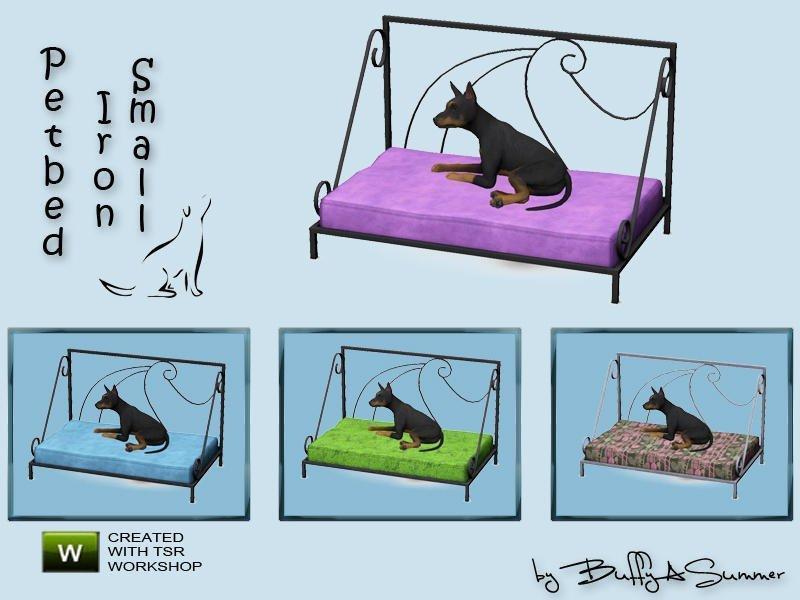 Набор мебели для кошек и собак от BuffSumm для Sims 3