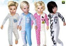 Комбинезон для детей от lillka для Sims 3
