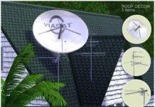 Телевизионные антенны от Severinka для Sims 3