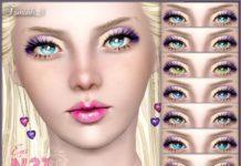 Глаза № 31 от TsminhSims для Sims 3