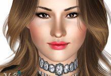 Симка Деми Ловато от Ms Blue для Sims 3