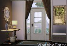 """Набор объектов """"Whithby Entry"""" от Angela для Sims 3"""