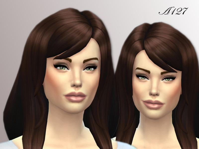 Angelina Jolie от altea127 для Sims 4
