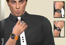 Часы Orange Swatch от Birba32 для Симс 4