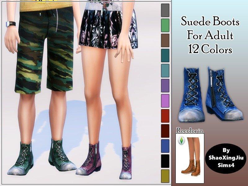 Ботинки Suede Boots от jeisse197