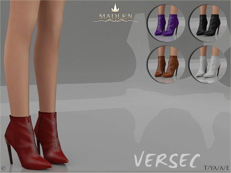 Полусапожки Versec для женщин Sims 4
