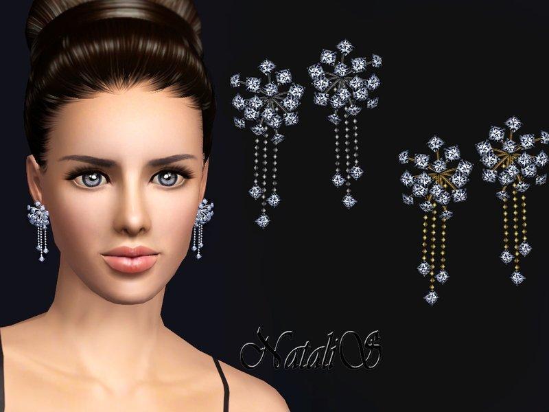 Набор украшений звездная пыль от NataliS для Sims 3