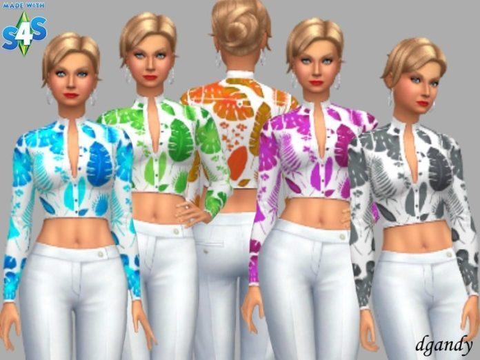 Скачать топ Ellie от dgandy для Sims 4