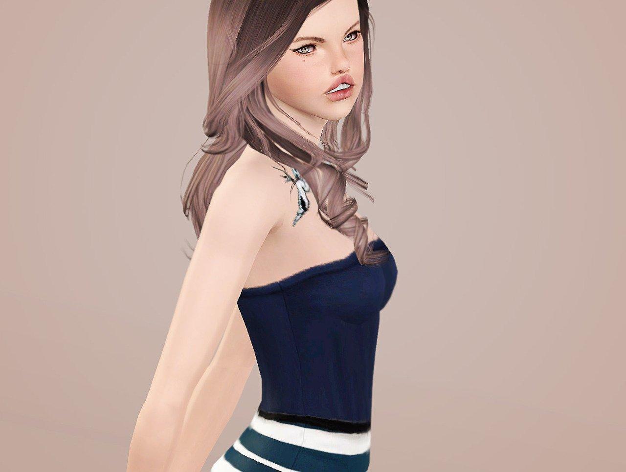 """Позы """"Светлые мечты"""" от Simchology для Sims 3"""
