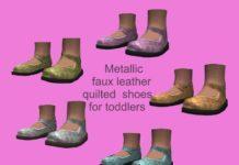 Детские туфли от lreveles18 для Sims 3