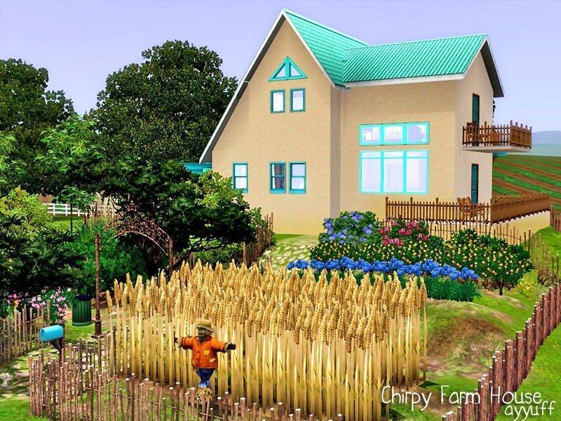 Фермерский домик от ayyuffдля Sims 3