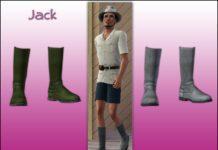 "Мужские сапоги ""Джек"" от Tomislaw для Sims 3"