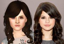 Симка Селена Гомес от MrandMrsSims для Sims 3