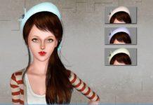 Шляпка-таблетка от Skysims для Sims 3