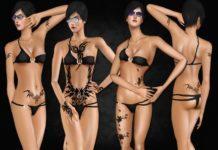 Набор женских татуировок от saliwa для Sims 3