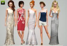 "Набор женской одежды ""Moving Forward"" от ILikeMusic640 для Sims 3"