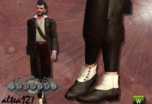 """Мужские ботинки """"Fratres"""" от altea127 для Sims 3"""