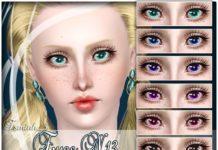 Линзы № 13 от TsminhSims для Sims 3