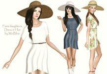 """Скачать Набор одежды """"Дочь фермера"""" от Ms_Blue для Sims 3"""