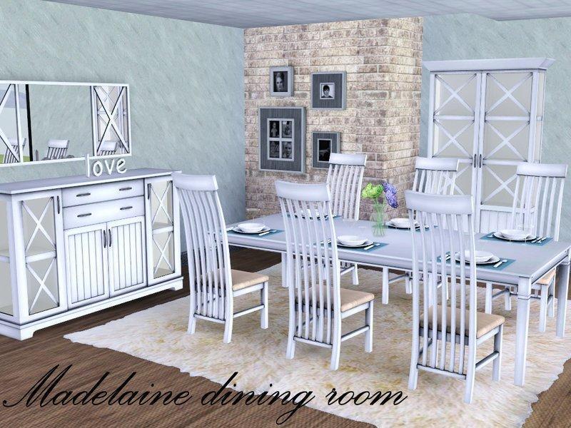 """Столовая """"Мадлен"""" от spacesim для Sims 3"""