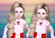 Детская прическа №244 от Skysims для Sims 3