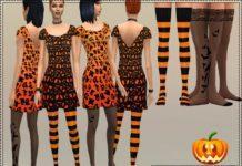 Набор на Хэллоуин от bukovka для Sims 4