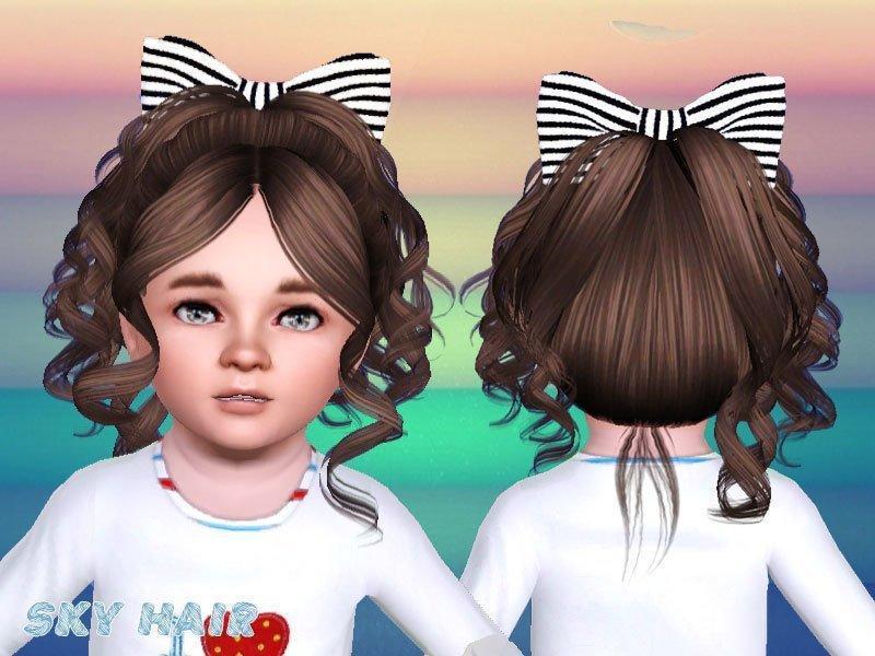 Детская прическа №245 от Skysims для Sims 3