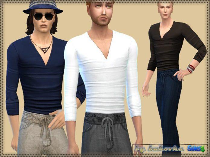Набор одежды Casual Set от bukovka для Sims 4