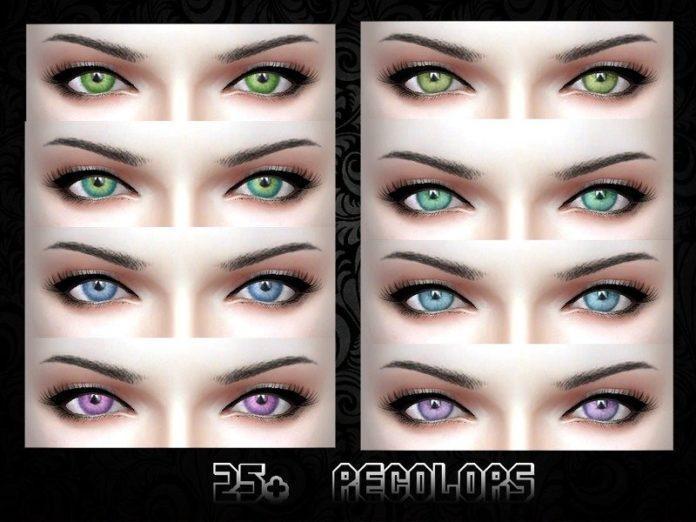 Глаза Mouseyblue от cuttingcubesofice для Sims 4