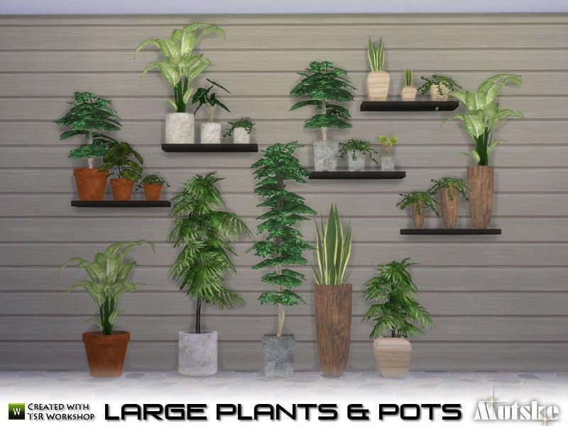 Набор растений от Mutske для Sims 4