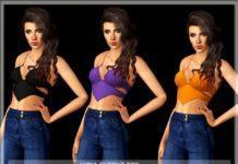 Короткий топ от Serpentrogue для Sims 3