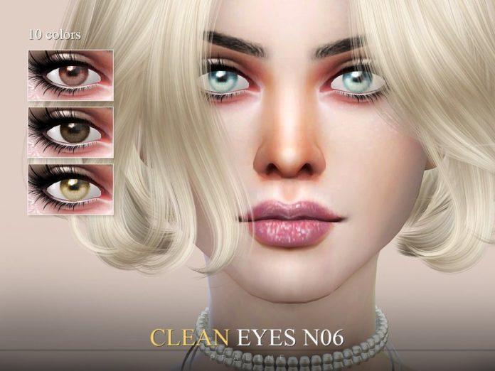 Глаза №6 от Pralinesims для Симс 4