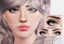 Линзы Morgause Eyes от Pralinesims для Sims 3