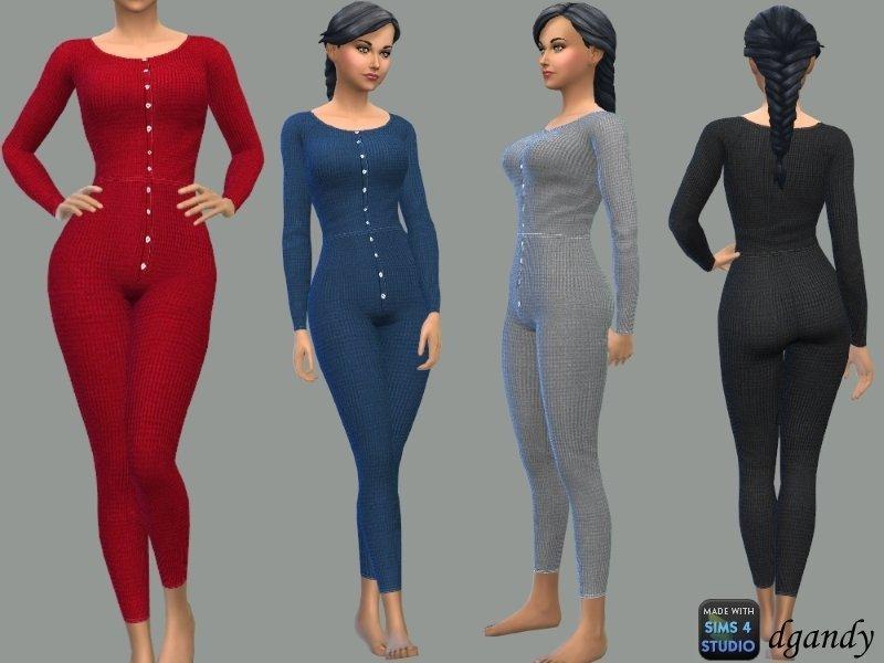 Женское термо-белье от dgandy для Sims 4